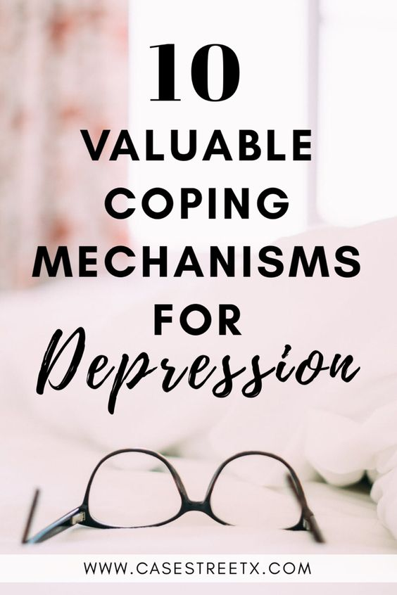 Coping mechanisms for depression